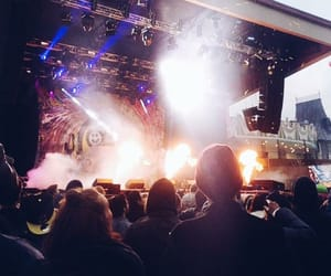 coachella, festival, and happy image