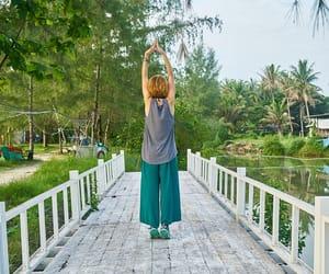 pregnancy, beginners, and prenatal yoga image