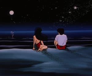 aesthetic, anime, and dark image