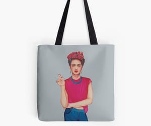 art, frieda, and tote bags image