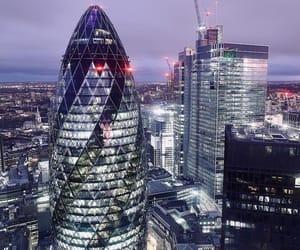 big city, lights, and london image
