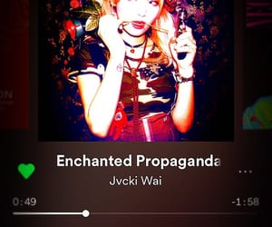 enchanted, indigo, and music image