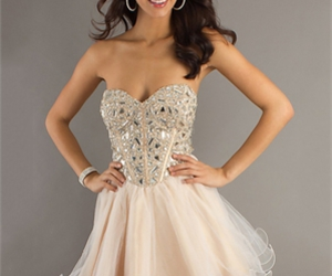 dress, Prom, and homecoming image