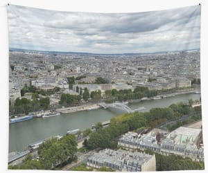 europe, paris on wall tapestry, and photos from redbubble image