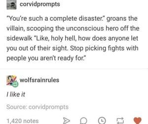 enemies, prompt, and hero image