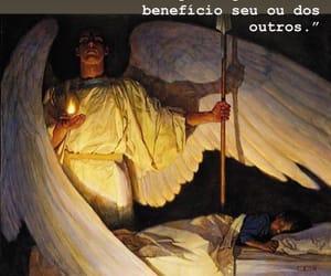 angel, pray, and god image