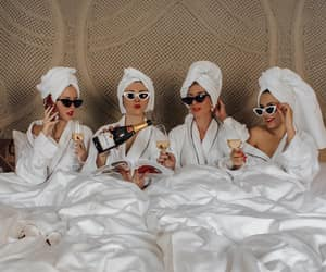 girls, friends, and champagne image