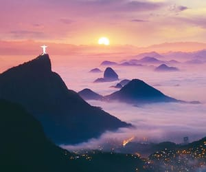 brazil, city lights, and clouds image