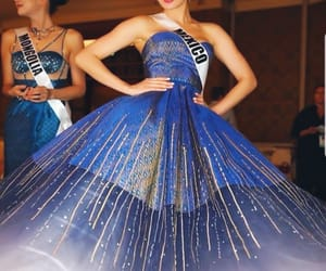 blue dress, pretty girls, and countries image