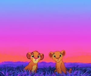 simba, the lion king, and ️nala image