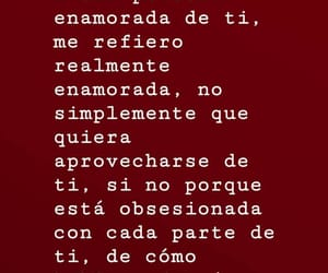 amor, frases, and loco image