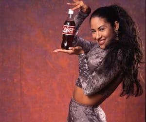 coca cola, selena quintanilla, and quintanilla image
