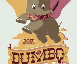 disney, dumbo, and vintage image