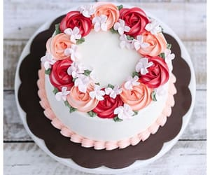 cake, chocolate, and frosting image