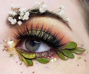 beauty, colorful, and eye image