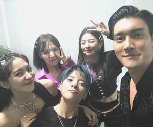 choi siwon, fx, and super junior image