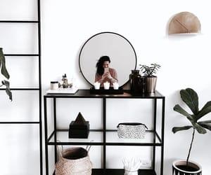 black, noir, and décoration image