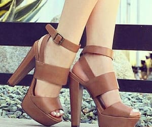 brown, heels, and talons image