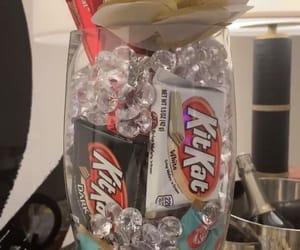 chocolate, candy, and kit kat image