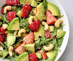 healthy, avocado, and food image