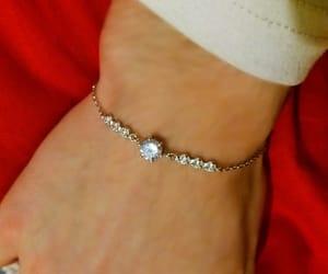 bracelet, diamonds, and christmas gift image