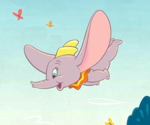 disney, dumbo, and wallpaper image