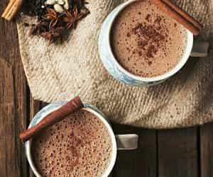 chaud, chocolat, and boisson image