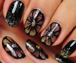 designs, nails, and fashion image