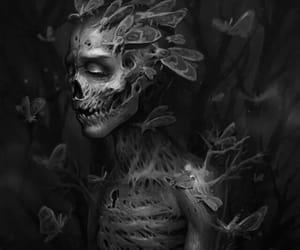 art, dark, and inspiration image