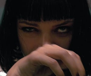 pulp fiction, uma thurman, and movie image
