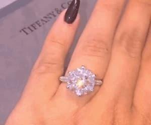 diamond ring, gif, and icy image