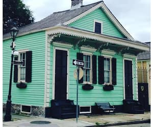 green, Houses, and new orleans image