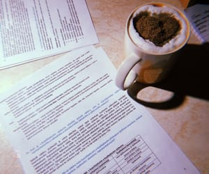 coffee, student, and study image
