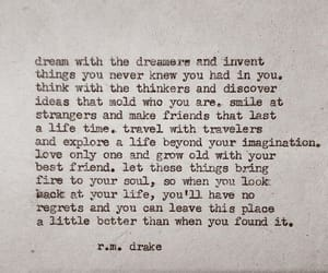 Dream, dreamer, and life image