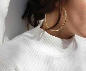 style, earrings, and girl image