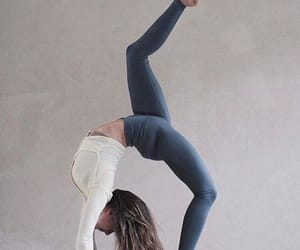 yoga, fit, and motivation image