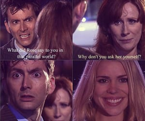 doctor, doctor who, and rose tyler image