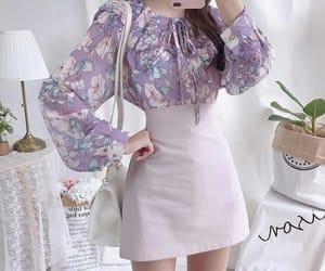 korean fashion, fashion, and outfit image