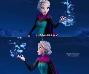 cartoon, frozen, and let it go image