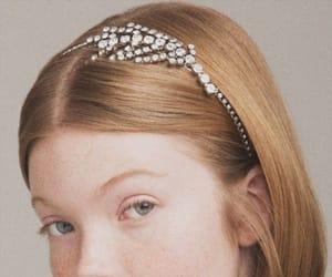 blonde, girl, and peinado image