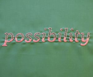 possibility and green image
