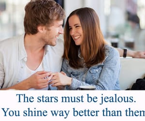flirt, flirty quotes, and flirting quotes image