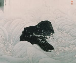 japanese art, traditional art, and u image