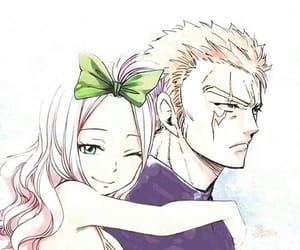 couple, miraxus, and fairy tail image