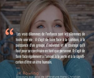 growing up, jk rowling, and quotes image