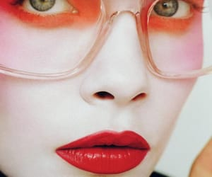 magazine, model, and cara image