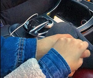 couple, goal, and hands image