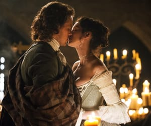 outlander, Claire, and jamie fraser image