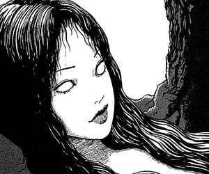 junji ito, tomie, and manga image