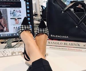 bags, Balenciaga, and high heels image